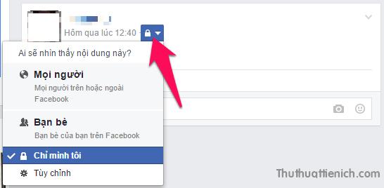 Cách giới hạn người xem những bài viết trên Facebook
