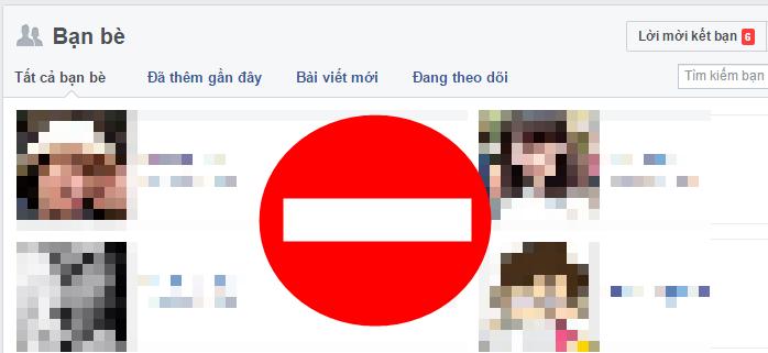 Không cho người khác xem danh sách bạn bè Facebook của bạn