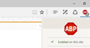 Làm thế nào để chặn quảng cáo trên trình duyệt web Microsoft Edge?
