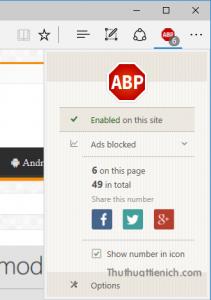Làm thế nào để chặn quảng cáo trên trình duyệt web Microsoft Edge? - Ảnh minh hoạ 7
