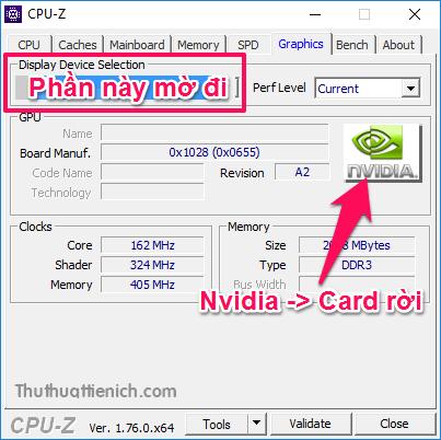 Máy tính sử dụng Card rời