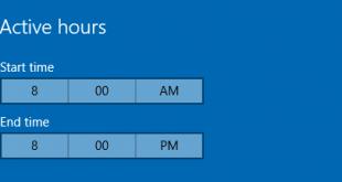 Hướng dẫn cài đặt khoảng thời gian Windows 10 không được phép khởi động lại để cài đặt cập nhật