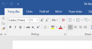 Cách cài đặt ngôn ngữ, giao diện tiếng Việt cho Office 2016