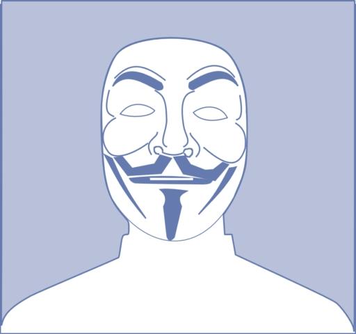 Ảnh đại diện hacker Anonymous