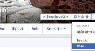 Cách chặn/bỏ chặn bất kỳ ai, bất kỳ trang nào trên Facebook