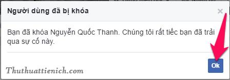 Chặn Facebook trên thành công
