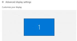 Hướng dẫn cách thay đổi độ phân giải màn hình trên Windows 7/8/10