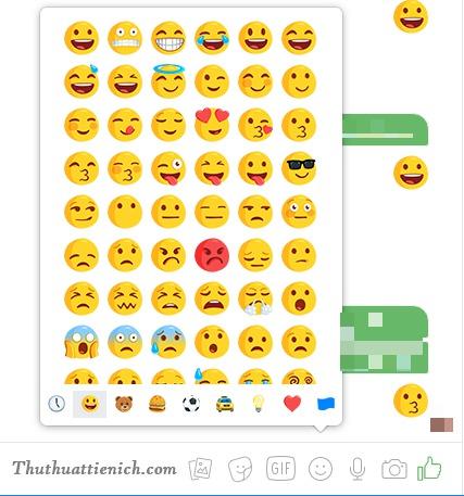 Icon, Biểu tượng cảm xúc Facebook tổng hợp