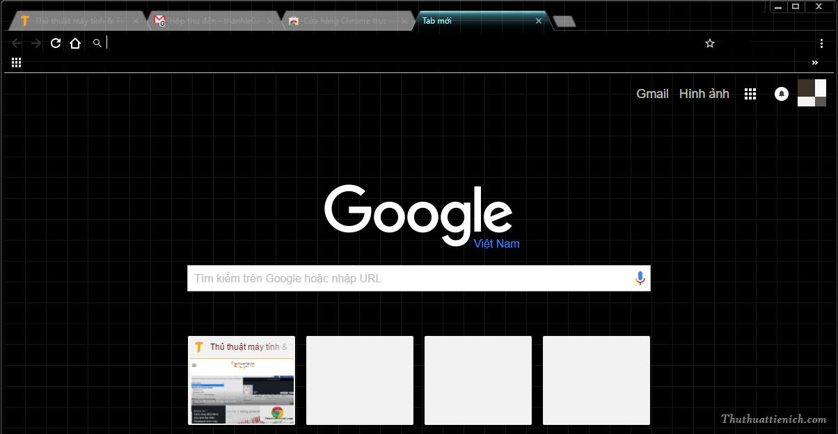 Kết quả với giao diện Late Night được Google phát triển