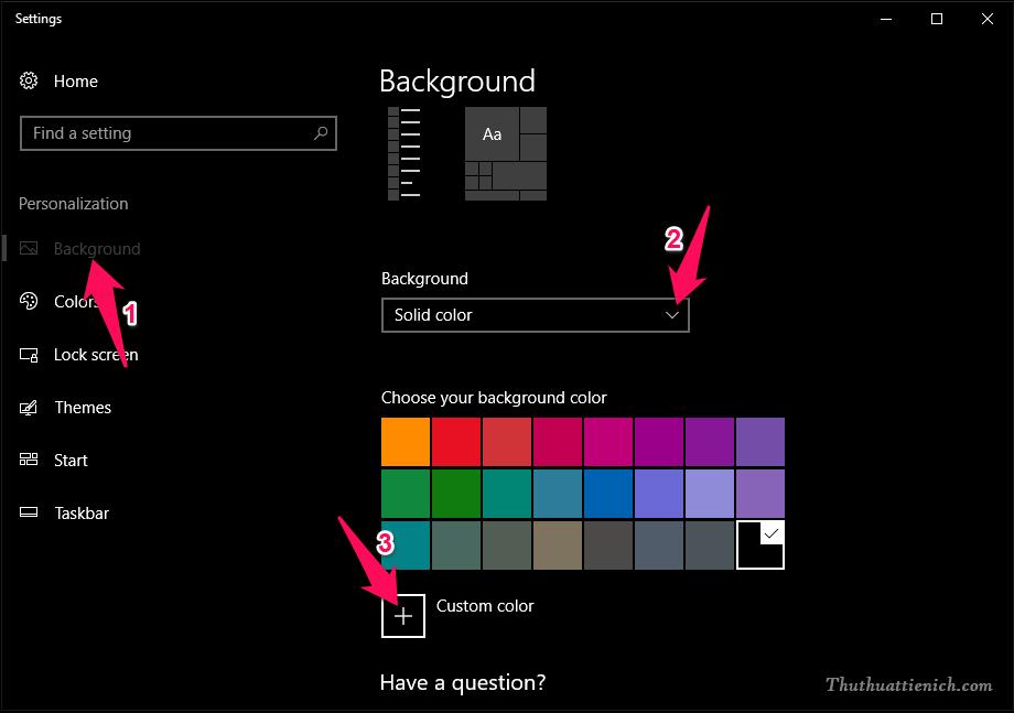 Cài đặt Dark Mode cho giao diện Windows