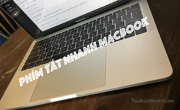Phím tắt nhanh Macbook
