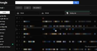 Hướng dẫn cách bật/tắt giao diện Dark Mode ( màu đen) cho Gmail