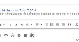 Gửi email bí mật Gmail
