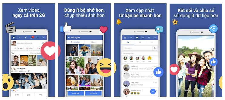 Những vượt trội của ứng dụng Facebook Lite so với ứng dụng Facebook truyền thống