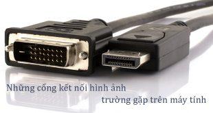 Những cổng kết nối hình ảnh trường gặp trên PC, Laptop, Card màn hình