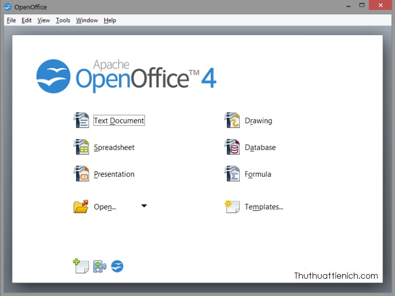 Phần mềm OpenOffice