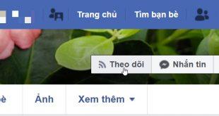 Hướng dẫn cách bật/tắt nút theo dõi (Follow) trên Facebook