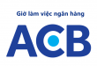 Giờ làm việc hành chính, thời gian giao dịch ngân hàng Á Châu ACB