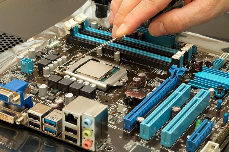 Vị trí của CPU
