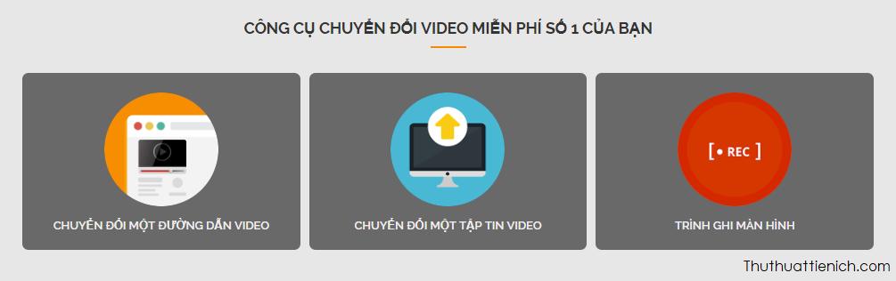Chọn tải video lên bằng 1 trong 2 cách