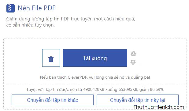 file PDF giảm được 86,69%