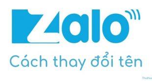 Cách thay đổi tên Zalo nhanh