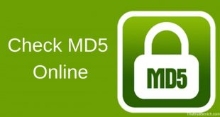 Check MD5 Online