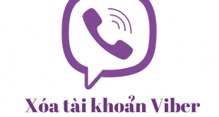 Xóa tài khoản Viber