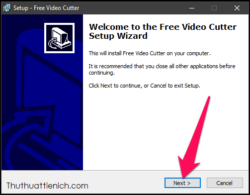 Tải về và cài đặt phần mềm Free Video Cutter