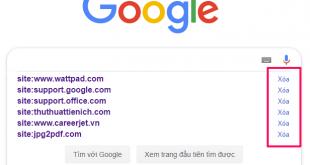 Hướng dẫn cách xóa lịch sử tìm kiếm Google nhanh, dễ làm
