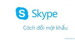 Hướng dẫn cách thay đổi mật khẩu Skype nhanh nhất
