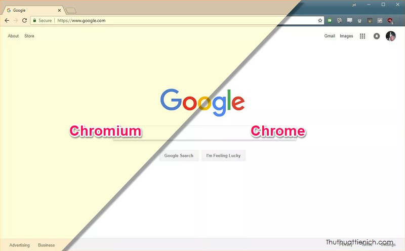 Chromium vs Chrome