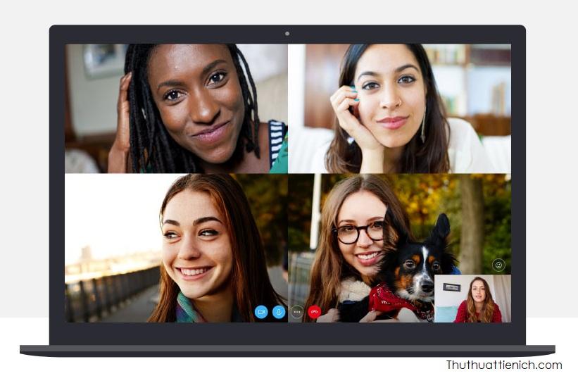 Gọi nhóm với Skype