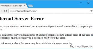 HTTP Error 500 (Internal Server Error) là gì? Nguyên nhân và cách sửa lỗi