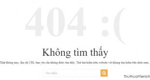 404 Not Found là gì? Nguyên nhân và cách sửa lỗi