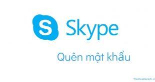 Quên mật khẩu Skype? Hướng dẫn cách lấy lại trên máy tính & điện thoại