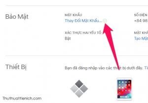 Bên cạnh dòng Thay đổi mật khẩu hiện dấu tích xanh là bạn đã đổi mật khẩu iCloud thành công rồi đó