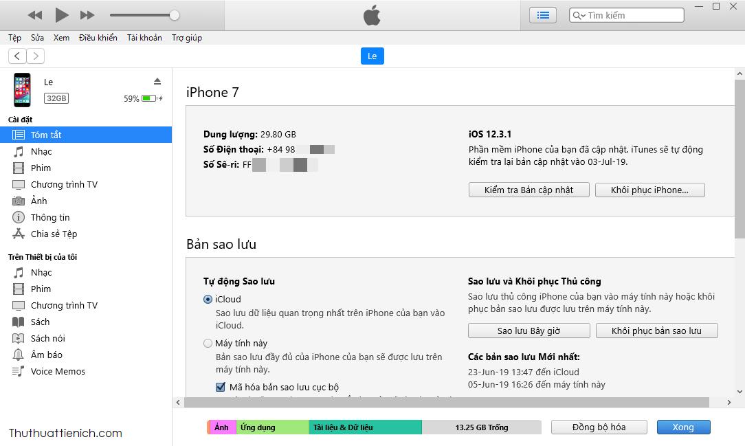 Tải iTunes (32-bit + 64-bit) miễn phí mới nhất về máy tính