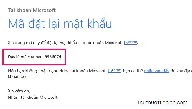 Đăng nhập email, lấy mã xác minh
