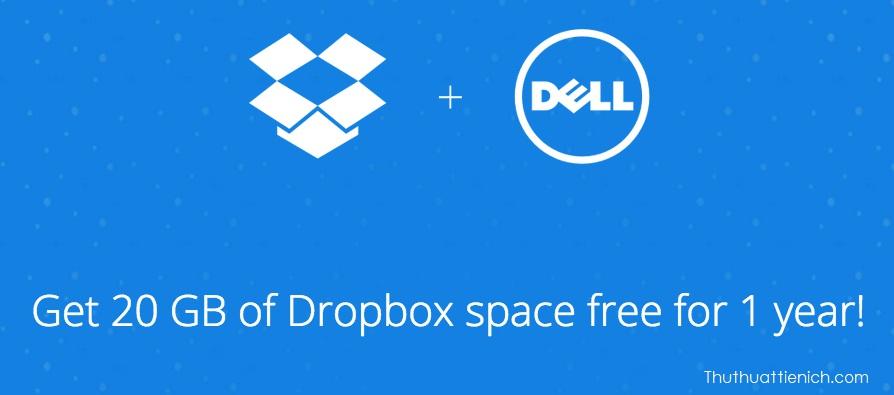 Nhận dung lượng lưu trữ Dropbox miễn phí khi mua thiết bị mới