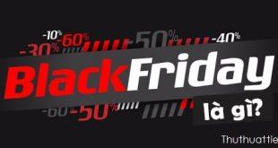 Black Friday là gì?