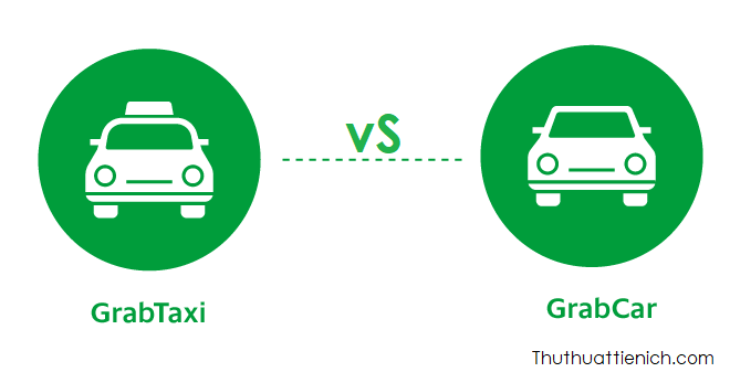 GrabTaxi vs GrabCar