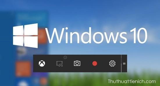 Quay video màn hình game, ứng dụng, phần mềm bằng Game Bar