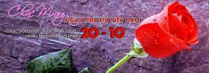 Hoa hồng là một thứ bán chạy nhất trong ngày 20-10. Biểu tượng của một món quà ý nghĩa.
