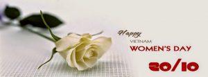 Chúc chị em phụ nữ một ngày 20/10 tràn ngập hoa và quà.