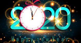 Ảnh bìa Facebook Happy New Year 2020 – Chúc mừng năm mới 2020