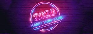 Ảnh bìa Facebook Happy New Year 2020 - Chúc mừng năm mới 2020