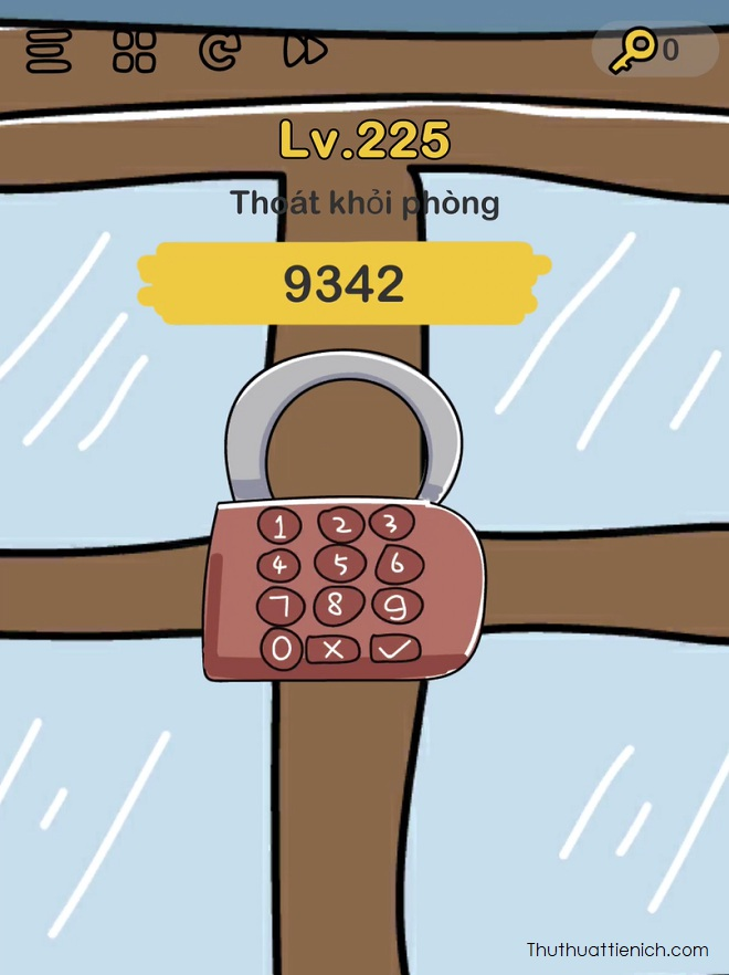 Đáp án Level 225 game Brain Out