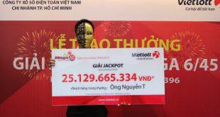Tuyển tập những đại lý xổ số Vietlott có 2 người trúng giải Jackpot