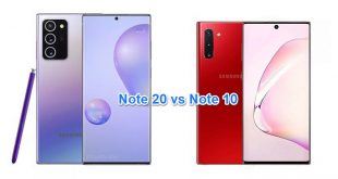 Samsung Note 10 vs Note 20
